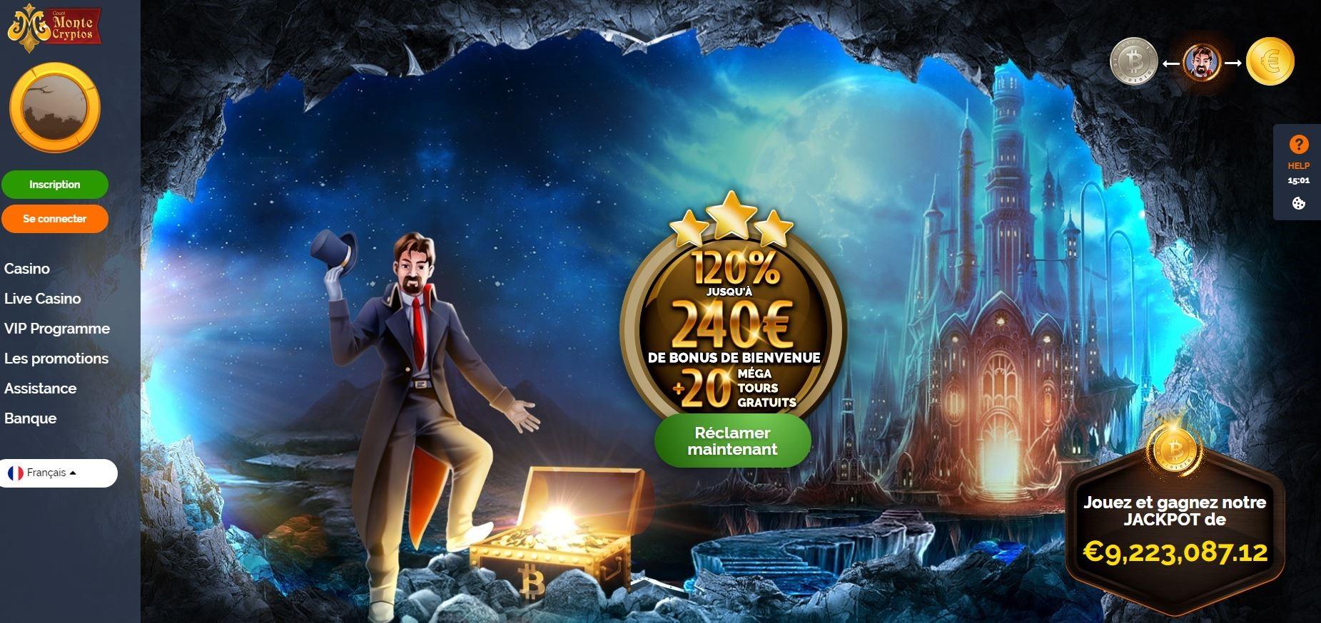 Avis Monte Crypto Casino : un casino de qualité ?
